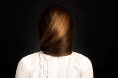 twój twarz twój włosy jest Zdjęcia Stock