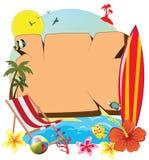 twój wakacje rodzinny szczęśliwy lato Obraz Stock
