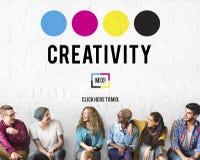 Twórczości dążenia inspiracja Inspiruje umiejętności pojęcie zdjęcia stock