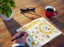 Twórczości Lightbulb technologii wiadomości ikony pojęcie Obraz Stock