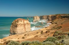Twaalf Apostelen, Australië stock fotografie