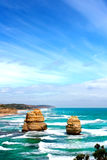 Twaalf apostelen, Australië Stock Foto's