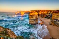 Twaalf apostelen Australië royalty-vrije stock afbeeldingen