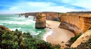 Twaalf Apostelen, Australië Stock Afbeeldingen