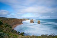 Twaalf Apostelen/Gibson-stappen Grote OceaanWeg Stock Fotografie
