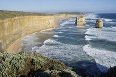 Twaalf Apostelen - Grote Oceaanweg Stock Foto's
