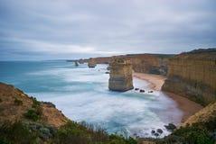 Twaalf apostelen, Grote OceaanWeg Stock Fotografie