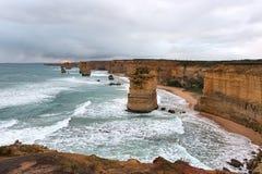 Twaalf apostelen, Grote OceaanWeg Royalty-vrije Stock Afbeeldingen