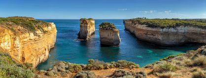 Twaalf Apostelen, Haven Campbell, Victoria, Australië, Grote Oceaanweg, Victoria, Australië stock afbeelding