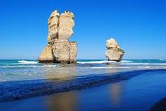 Twaalf Apostelen op de Grote OceaanWeg Stock Foto's
