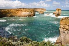 Twaalf Apostelen in Victoria, Australië Stock Foto's