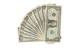 Twaalf Dollars van de V.S. Royalty-vrije Stock Foto's