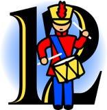 Twaalf het Trommelen van Slagwerkers/eps Royalty-vrije Stock Afbeelding