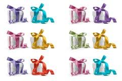 Twaalf stellen dozen voor Royalty-vrije Stock Fotografie