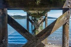 Twanoh Pier 3 Stock Photo