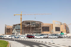 Twar Mall Construction Site in Doha, Qatar Royalty Free Stock Images
