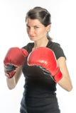 Twardy kobieta boks Obraz Stock