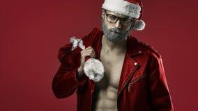 Twardy Santa Claus obrazy royalty free
