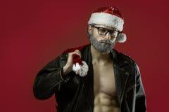 Twardy Santa Claus obrazy stock