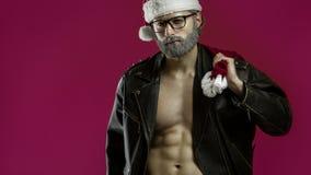 Twardy Santa Claus zdjęcie stock