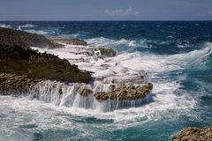 Twardy Seashore Zdjęcia Stock