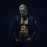 Twardy w średnim wieku mężczyzna obraz stock