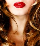 Twarz ładna kobieta Obrazy Stock