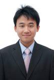 twarz azjatykci biznesowy mężczyzna obraz royalty free