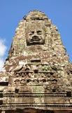 Twarz Bayon świątynia Obraz Stock