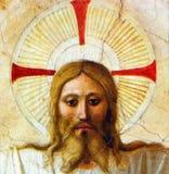 Twarz Chrystus Fotografia Royalty Free