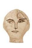 twarz drewniana Zdjęcie Royalty Free