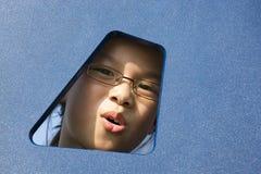 twarz dzieciak s Obrazy Royalty Free