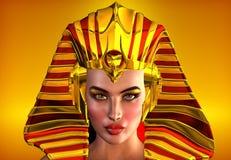 Twarz Egipt Obrazy Royalty Free