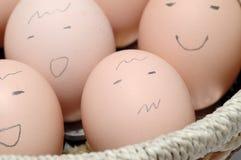 twarz jajeczna Fotografia Royalty Free