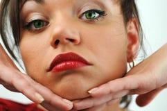 twarz jest kobieta Obraz Royalty Free