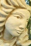 twarz kamień Fotografia Stock