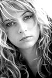 twarz kobiety blisko Fotografia Royalty Free