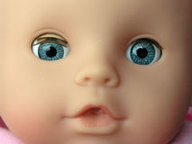 twarz lalki Obraz Royalty Free