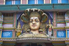 Twarz Macierzysty Durga Zdjęcia Royalty Free