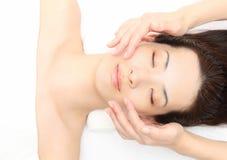 Twarz masaż Zdjęcia Stock