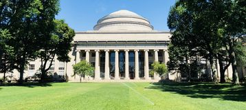 Twarz MIT fotografia stock
