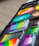 Twarz obrazu kosmetyki Obrazy Stock