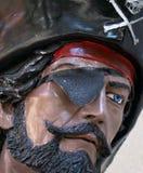twarz pirat Zdjęcia Royalty Free