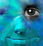 twarz pokojowa Fotografia Stock