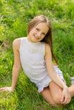 twarz się portret dziewczyny zaskoczeni young Obrazy Stock