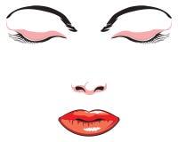 twarz w ilustracji