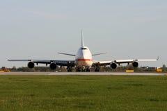 Twarz w twarz widok samolot Obraz Royalty Free