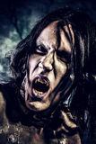 Twarz wampir Fotografia Stock