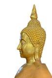 Twarz złoty Buddha wizerunek Fotografia Royalty Free