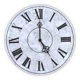 Twarz zegar royalty ilustracja